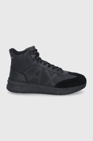 Armani Exchange - Δερμάτινα παπούτσια