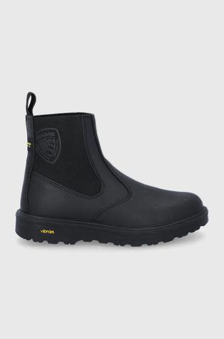 Blauer - Kožené kotníkové boty
