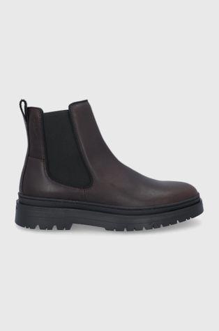 Vagabond - Kožené kotníkové boty James