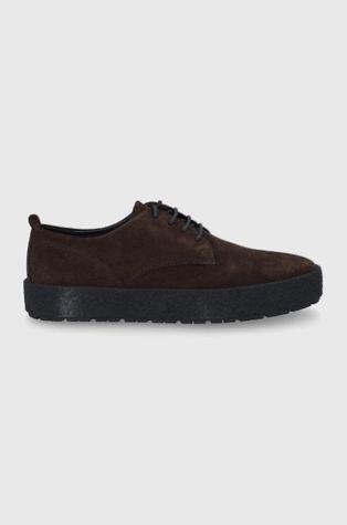 Vagabond - Половинки обувки от велур Fred
