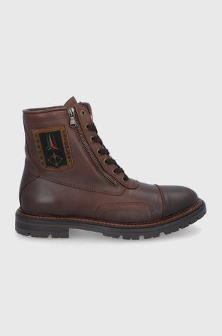 Aeronautica Militare - Kožené boty
