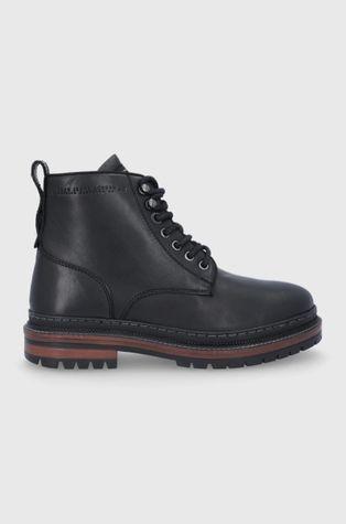 Pepe Jeans - Trzewiki skórzane Martin Boot