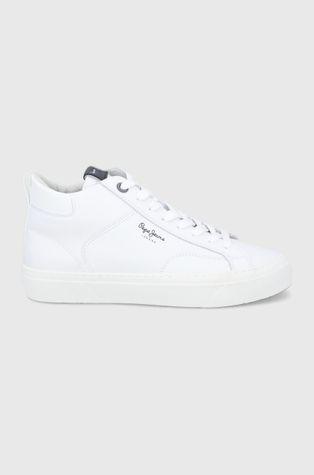 Pepe Jeans - Кожени обувки Yogi Original Boot