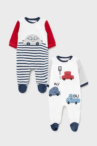 Mayoral Newborn - Бебешки ританки (2 чифта)