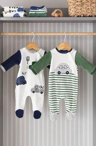 Mayoral Newborn - Дитячі повзунки (2-Pack)
