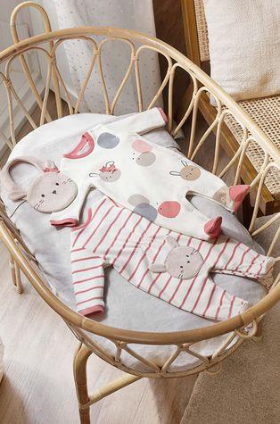 Mayoral Newborn - Piżama niemowlęca (2-Pack)