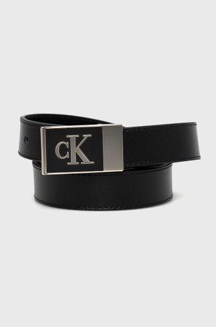 Calvin Klein Jeans - Δερμάτινη ζώνη