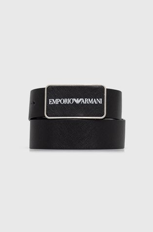 Emporio Armani - Pasek skórzany