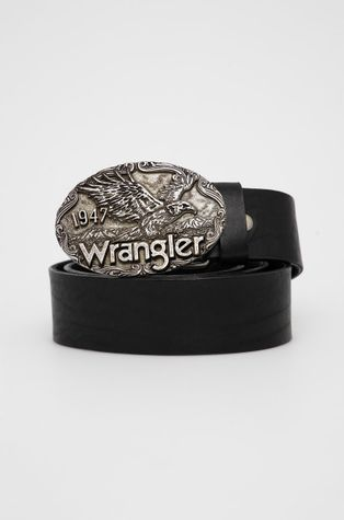 Wrangler - Pasek skórzany