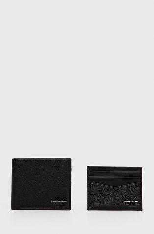 Calvin Klein Jeans - Кожен портфейл и калъф за карти