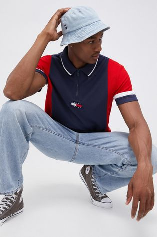 Tommy Jeans - Polo bawełniane