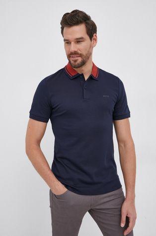Boss - Bavlnené polo tričko