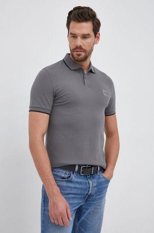 Boss - Тениска с яка Boss Casual