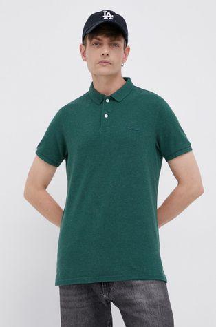 Superdry - Bavlnené polo tričko