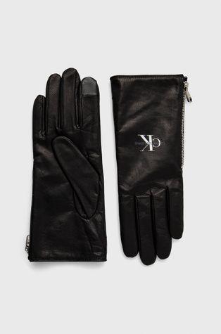 Calvin Klein Jeans - Кожени ръкавици
