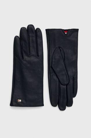 Tommy Hilfiger - Δερμάτινα γάντια