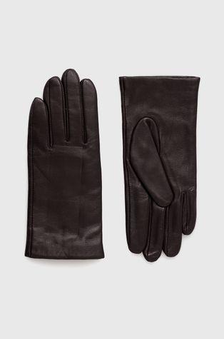 Samsoe Samsoe - Kožené rukavice