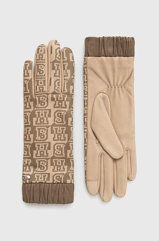 Boss - Rękawiczki skórzane