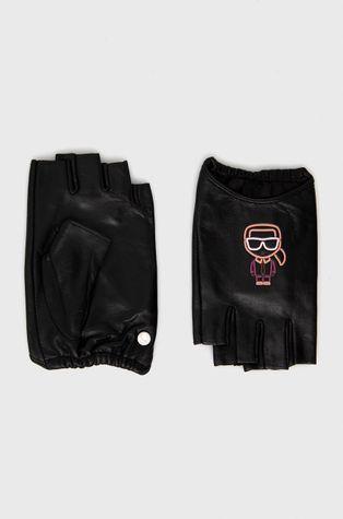 Karl Lagerfeld - Шкіряні мітенки
