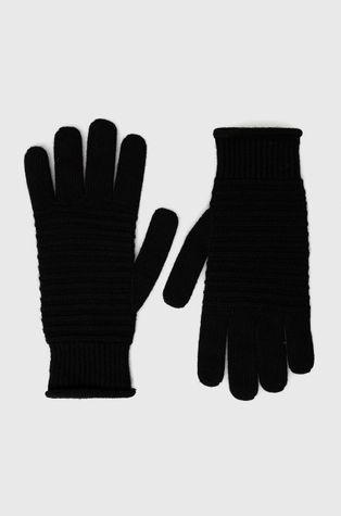 Sisley - Rękawiczki z domieszką kaszmiru