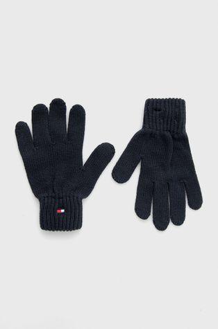 Tommy Hilfiger - Rękawiczki bawełniane dziecięce