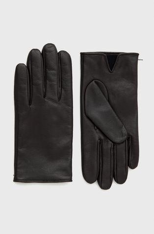 Boss - Шкіряні рукавички Boss Casual