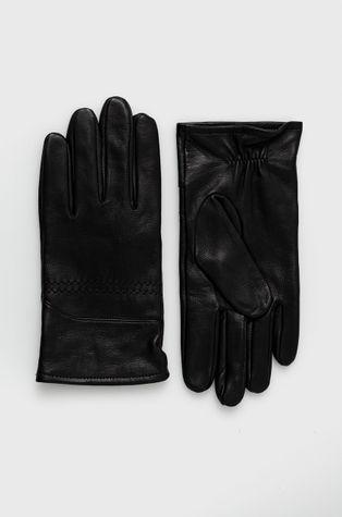 Boss - Кожаные перчатки Boss Casual
