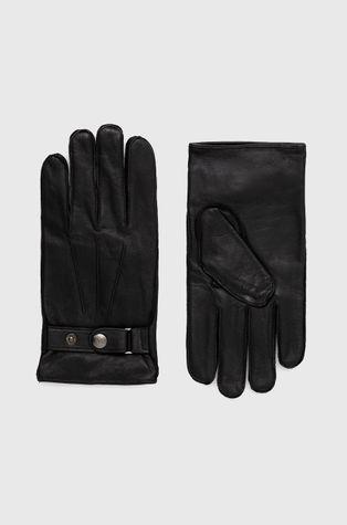 Armani Exchange - Шкіряні рукавички
