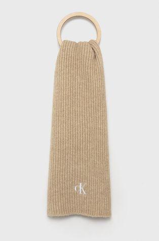 Calvin Klein Jeans - Šátek z vlněné směsi
