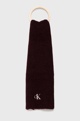 Calvin Klein Jeans - Шал с вълна