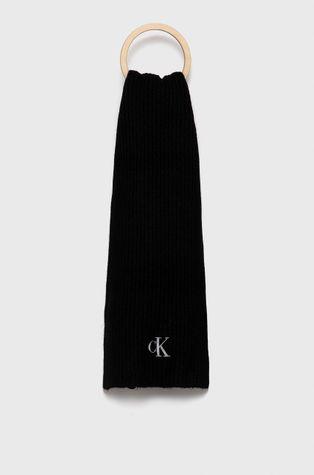 Calvin Klein Jeans - Szalik z domieszką wełny