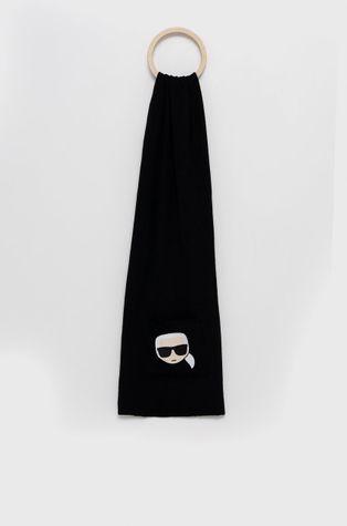 Karl Lagerfeld - Μαντήλι από μείγμα μαλλιού