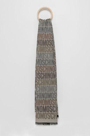 Moschino - Szal z domieszką wełny