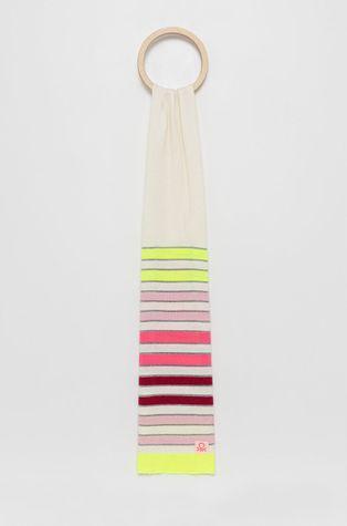 United Colors of Benetton - Gyerek gyapjú keverék sál