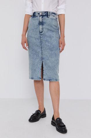 Hugo - Fusta jeans