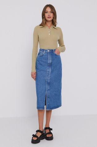 Samsoe Samsoe - Fusta jeans