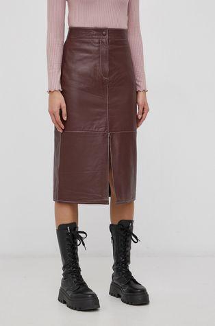 Y.A.S - Δερμάτινη φούστα