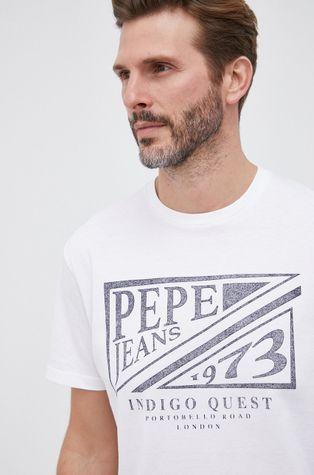Pepe Jeans - T-shirt bawełniany Spike