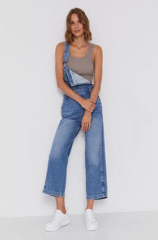 Pepe Jeans - Дънков гащеризон Shay Indygo