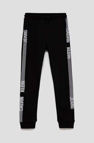 Calvin Klein Jeans - Detské bavlnené nohavice