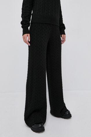 Guess - Spodnie z domieszką wełny