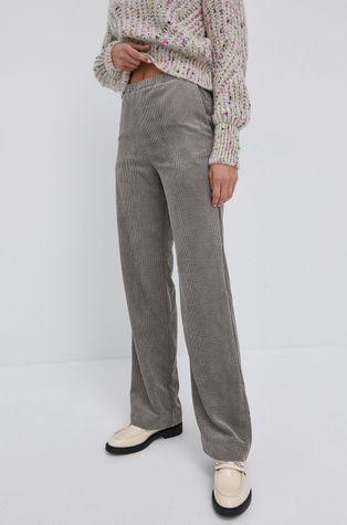 BIMBA Y LOLA - Spodnie sztruksowe