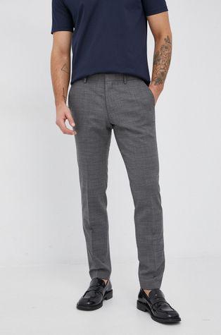 Boss - Spodnie wełniane