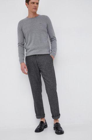 Sisley - Spodnie z domieszką wełny