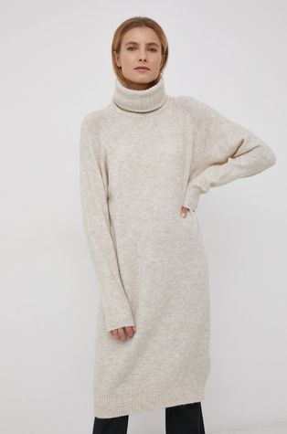 Vero Moda - Sukienka z domieszką wełny