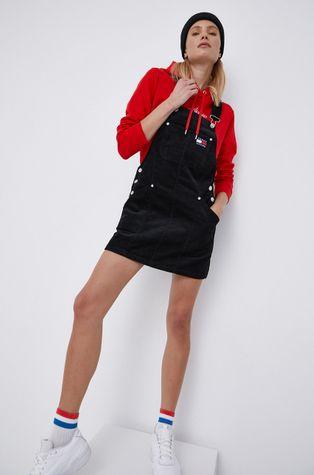 Tommy Jeans - Sukienka sztruksowa