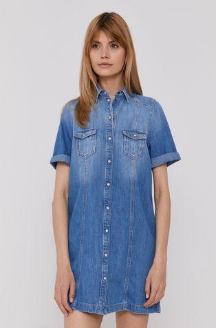Pepe Jeans - Sukienka jeansowa Holly
