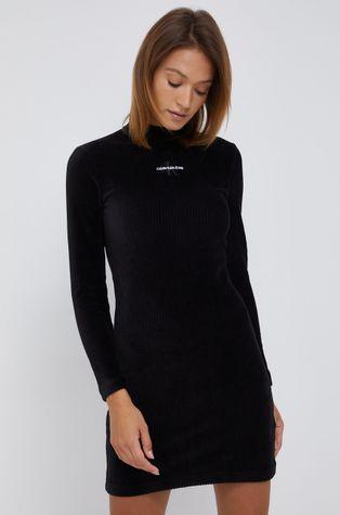 Calvin Klein Jeans - Sukienka sztruksowa