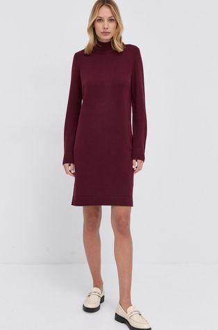 Boss - Μάλλινο φόρεμα