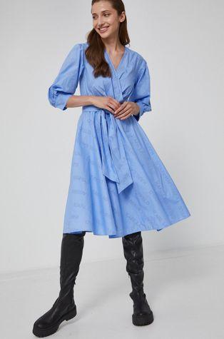 Karl Lagerfeld - Sukienka bawełniana